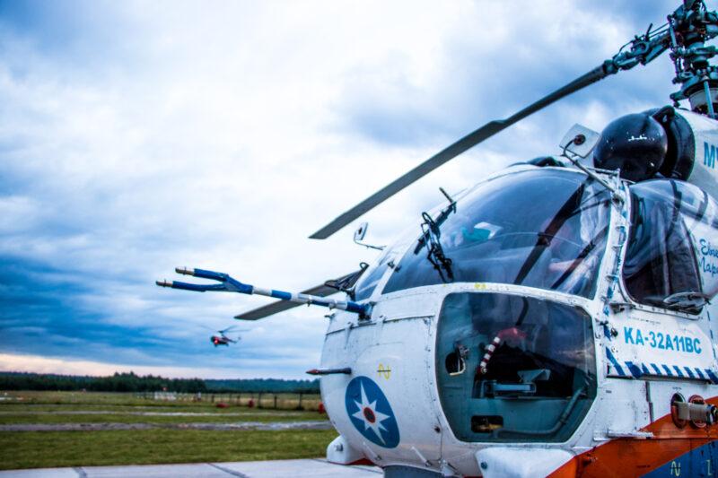 Ребенка из Тверской области срочно доставили на вертолете в больницу