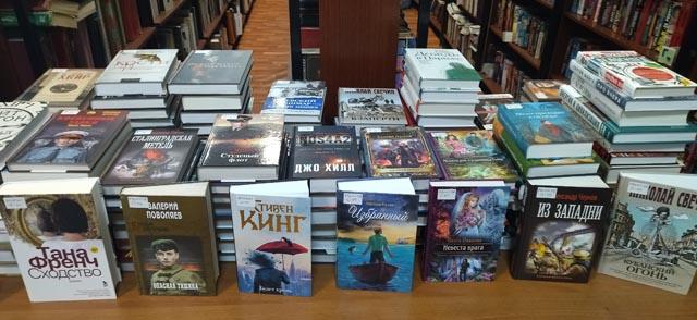 В Западнодвинскую Центральную библиотеку поступили новые книги