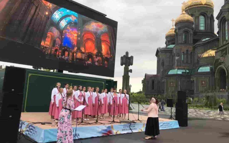 Хор «Глория» из Конаково принял участие в фестивале христианской культуры