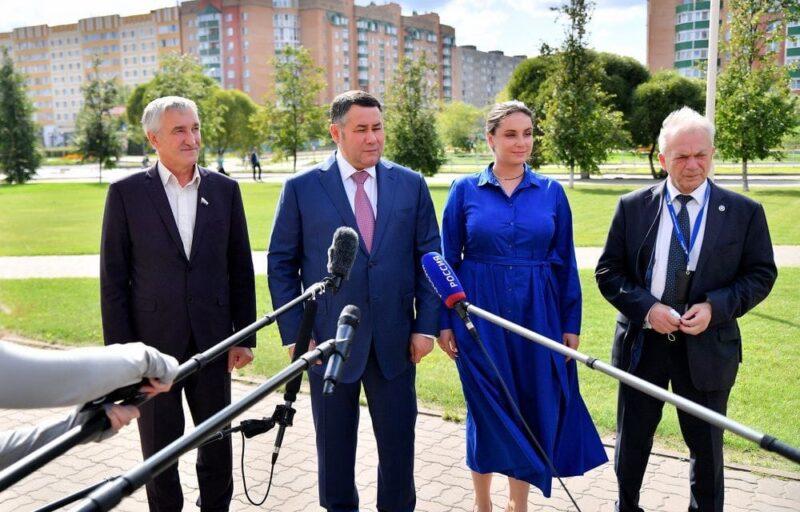 Игорь Руденя на встрече с жителями Удомельского городского округа ответил на значимые для развития территории вопросы