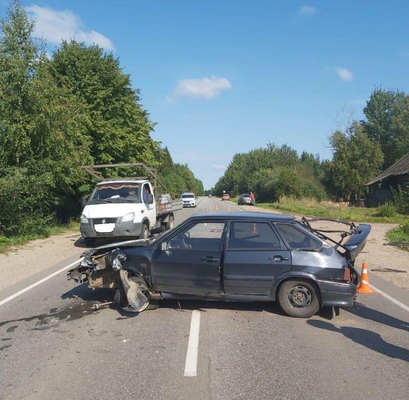 В Тверской области произошло тройное ДТП