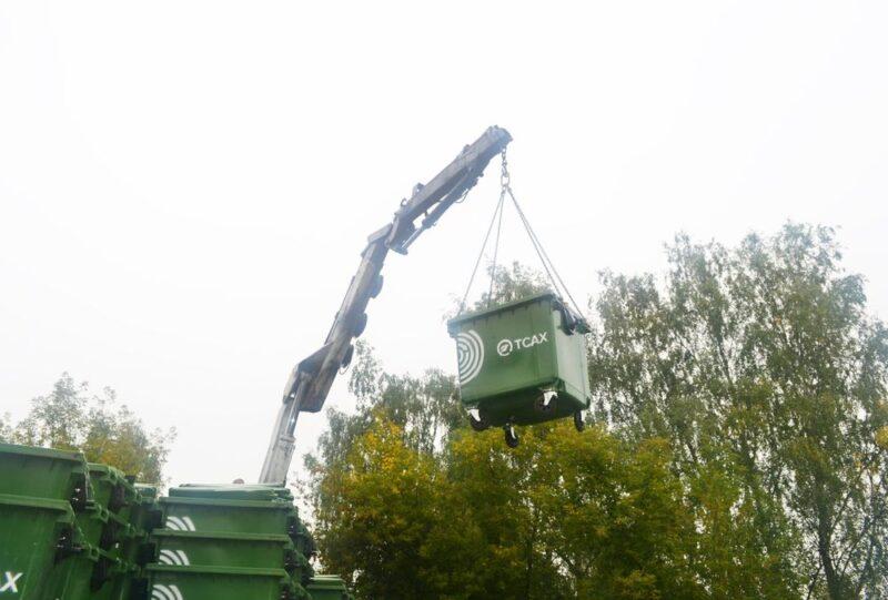 В Конаково поступила партия новых мусорных контейнеров