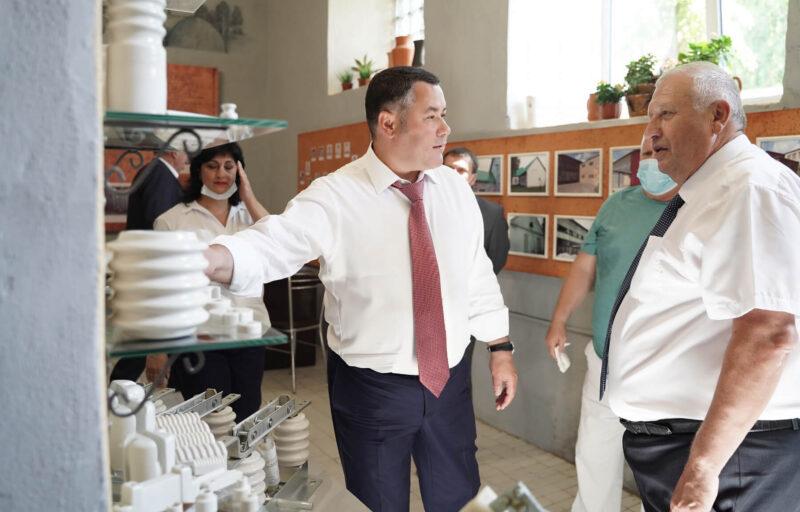 Андреапольский фарфоровый завод в Тверской области начинает создавать новые рабочие места и увеличит производительность