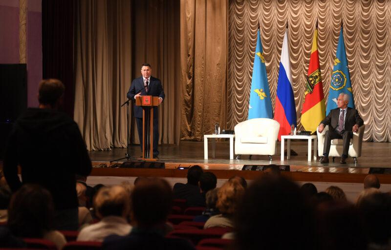 Игорь Руденя сообщил о расширении газификации и запуске новой модели пассажирских перевозок в Торжке и Торжокском районе