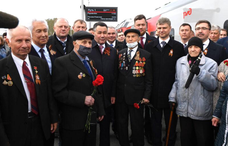 Игорь Руденя подчеркнул вклад тверских железнодорожников в развитие стальных магистралей страны