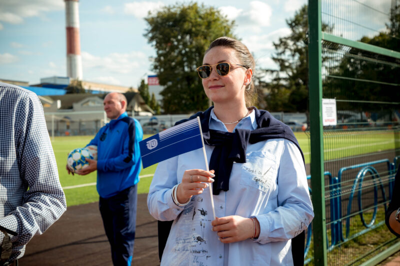 ТВЗ отметил свой день рождения, а в гости к коллективу заглянули Владимир Васильев и Юлия Саранова