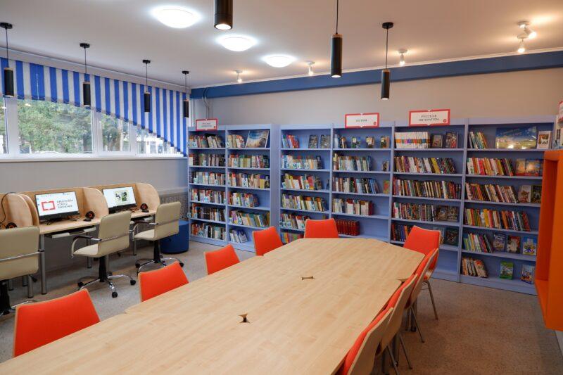 В Лихославле открылась первая в Тверской области модельная библиотека