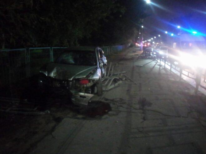 В Твери в ночной аварии зафиксировали серьезно пострадавших