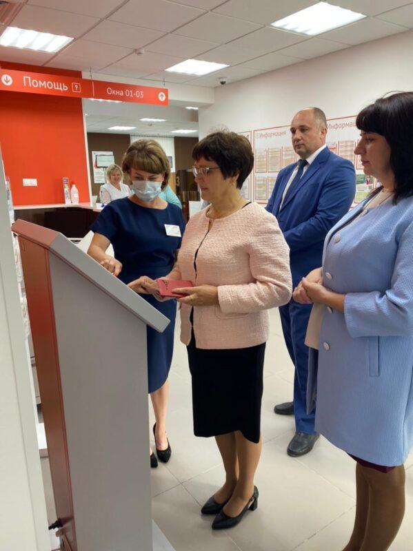 В Лесное открылся новый филиал МФЦ