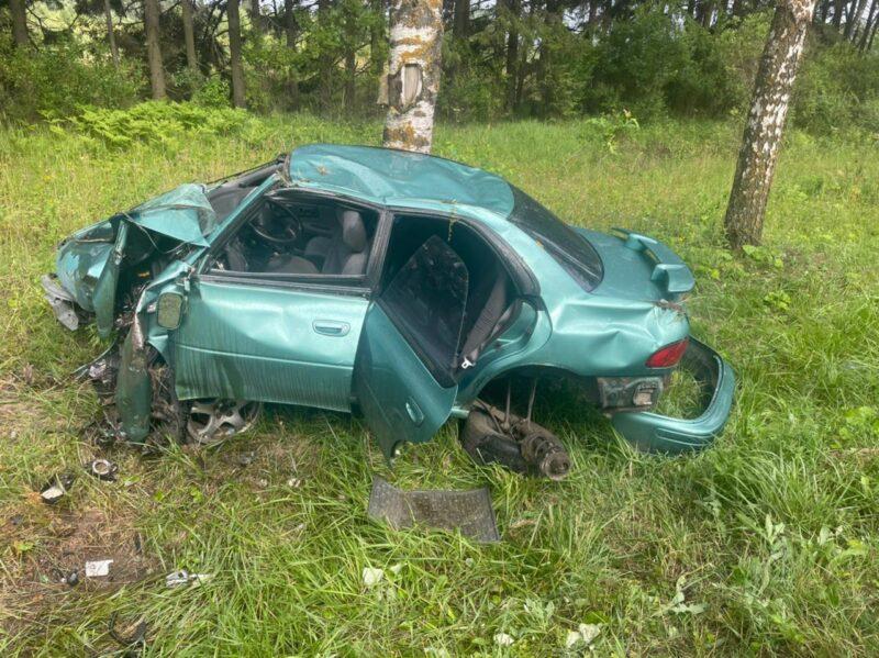 Водитель легковушки уснул и попал в ДТП в Тверской области