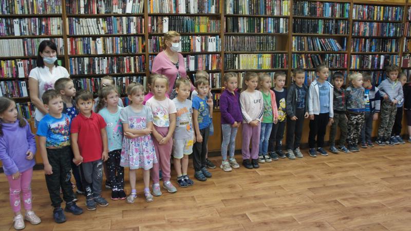 Нелидовских дошколят познакомили с библиотекой