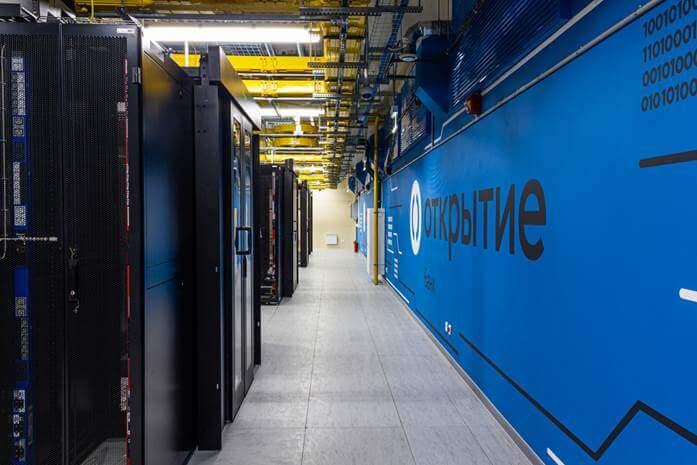 """Начал работать единый центр обработки данных для компаний банка """"Открытие"""""""