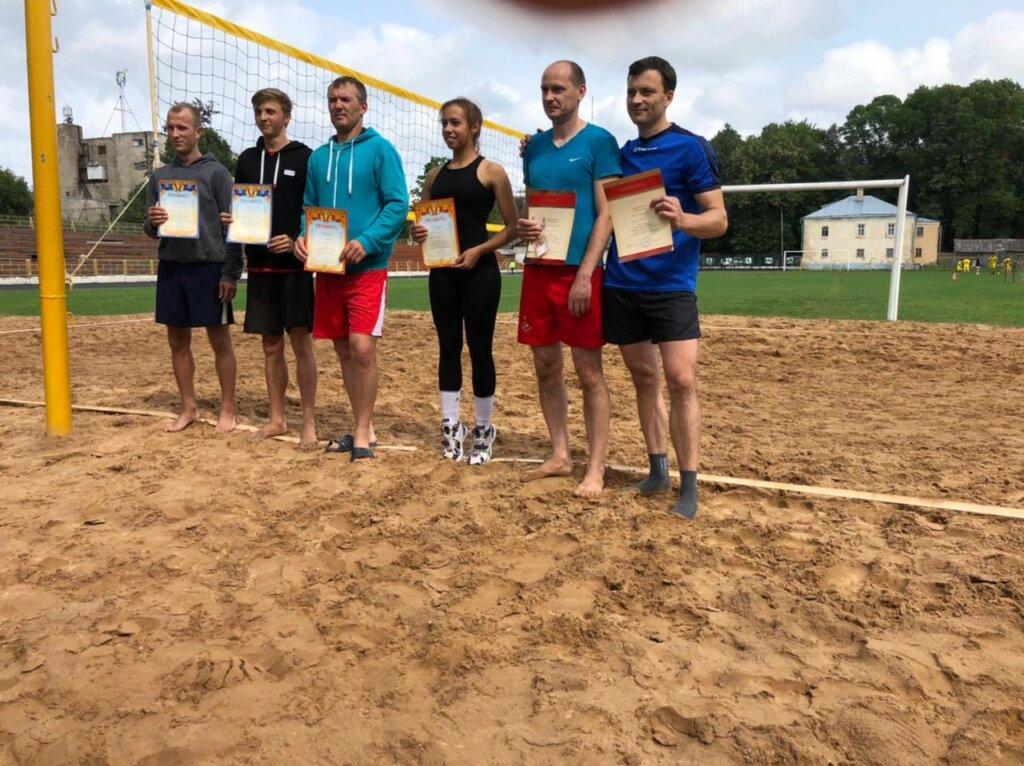 Западнодвинские спортсмены стали бронзовыми призёрами в открытом турнире по пляжному волейболу
