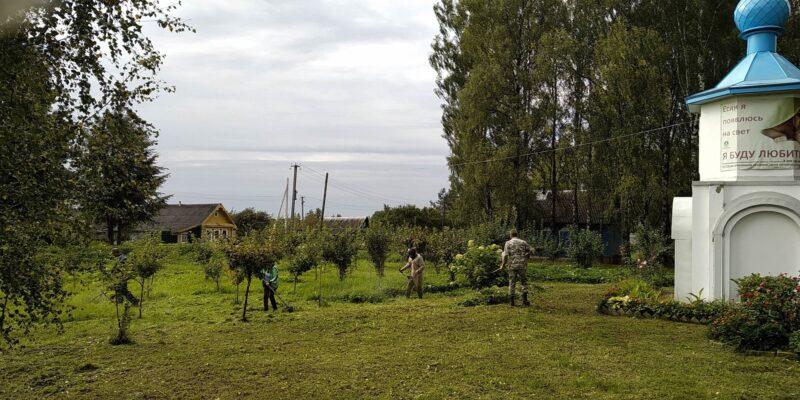 На территории Ржевского района прошел субботник