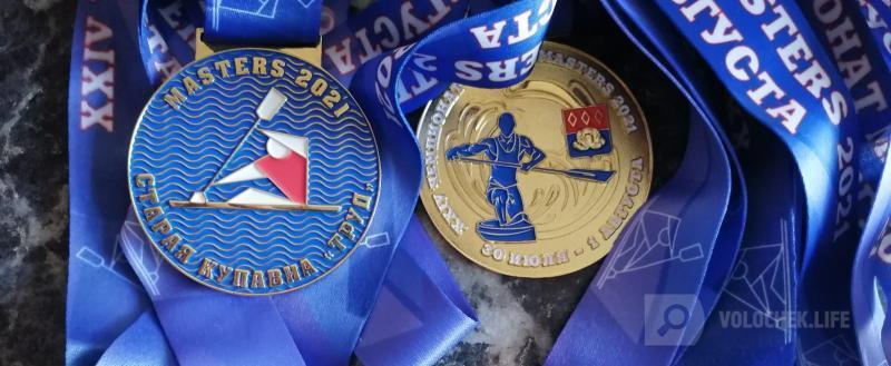 На чемпионате России среди ветеранов вышневолоцкий гребец завоевал 12 медалей