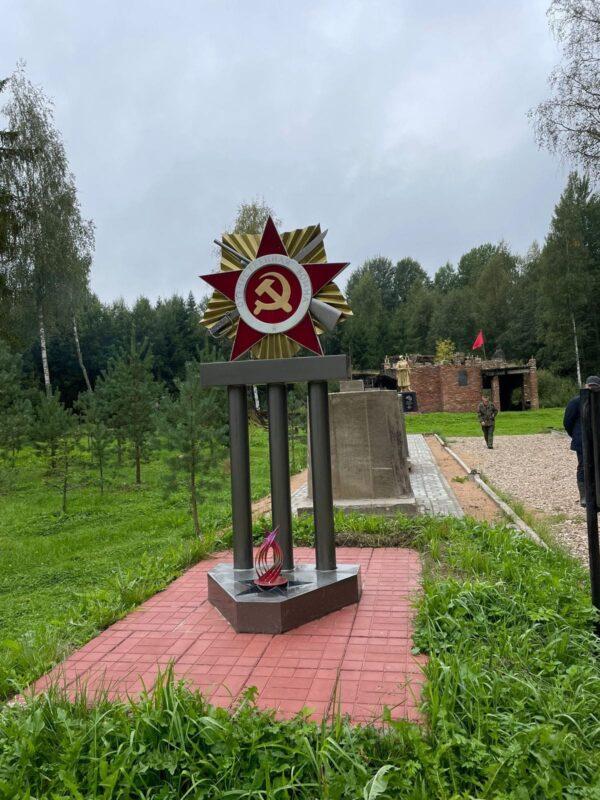 В Нелидово открыли памятник горнякам-первопроходцам