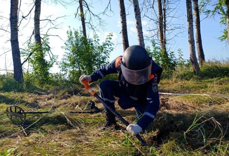 В Тверской области завершаются работы над обезвреживанием снарядов времен ВОв