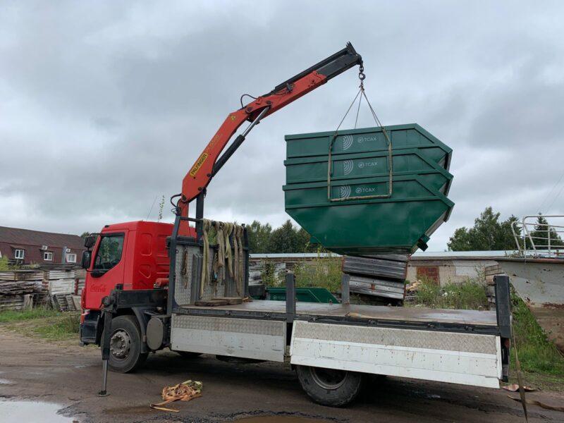 В город Кашин Тверской области прибыли контейнеры нового типа