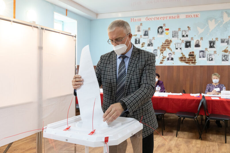 В Тверской области многие граждане уже проголосовали
