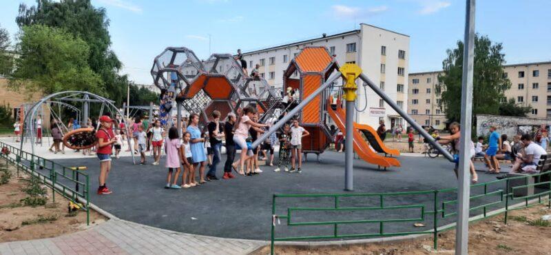 Завершено благоустройство 53-х объектов в районах Тверской области