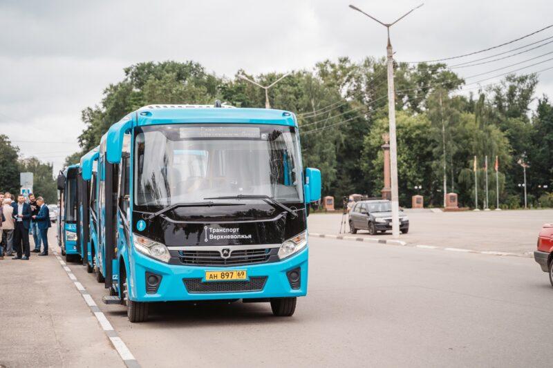 В Ржевском районе изменились маршруты двух автобусов