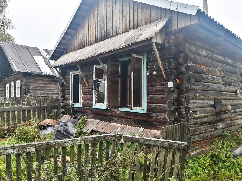 В Тверской области при тушении пожара найдено тело мужчины