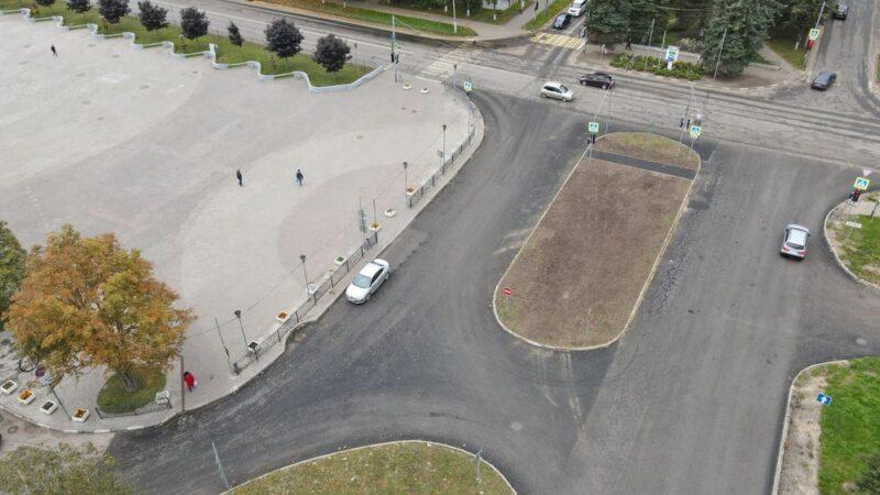 Всё сравняют: новый асфальт работает на имидж города Конаково