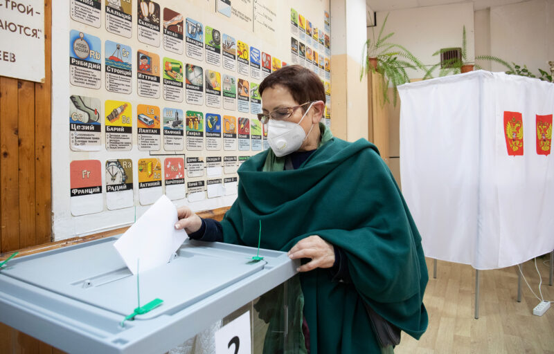 В Тверской области в голосовании приняли участие Татьяна Куюкина, Людмила Скаковская и Каринэ Конюхова