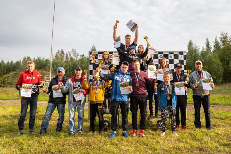 На полигоне Тверского политеха разыграли награды Кубка ректора по мотокроссу «Золотая осень»