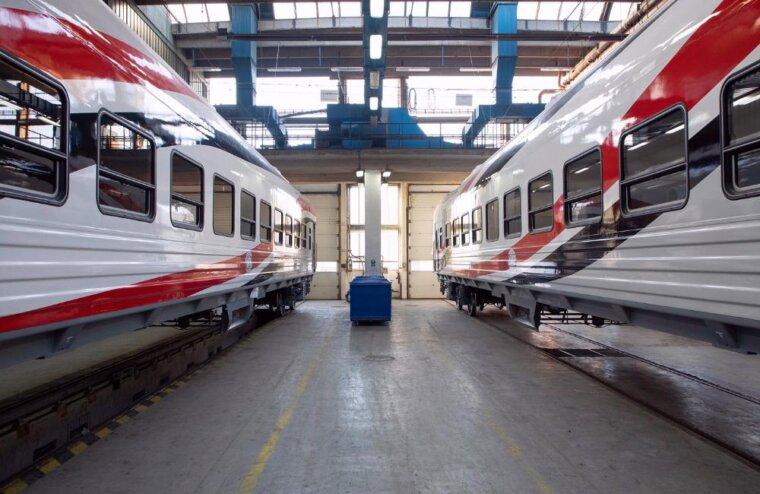 Новые пассажирские вагоны, изготовленные на ТВЗ, передали президенту Египта