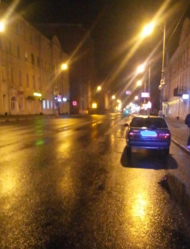 В Твери молодой водитель без прав наехал на пьяного пешехода