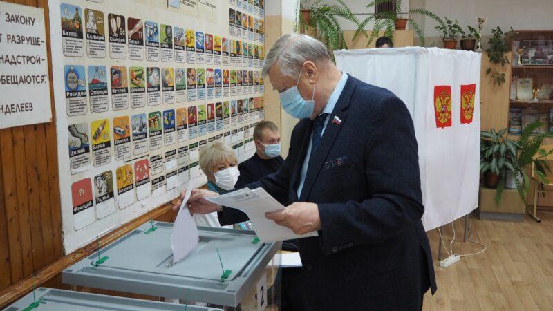 В Тверской области продолжается голосование на выборах