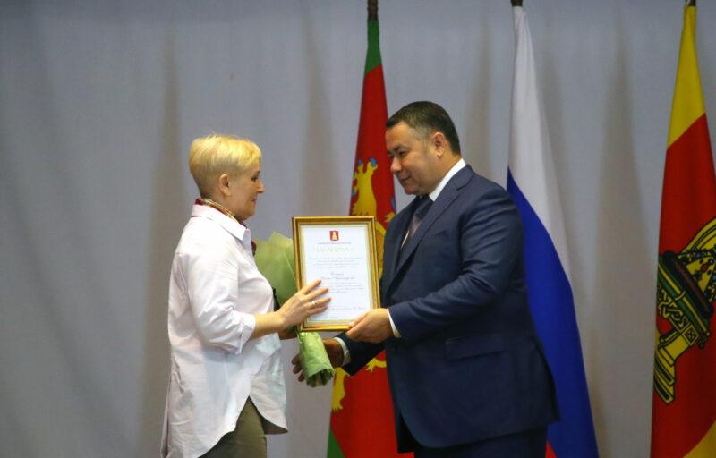 Игорь Руденя вручил награды военнослужащим Тверского территориального гарнизона