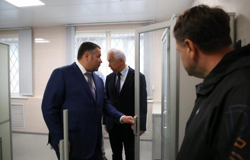 Игорь Руденя посетил Ржевскую станцию скорой помощи