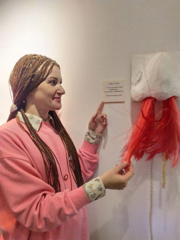 В Твери открылась авторская выставка московской художницы Катерины Мисюра