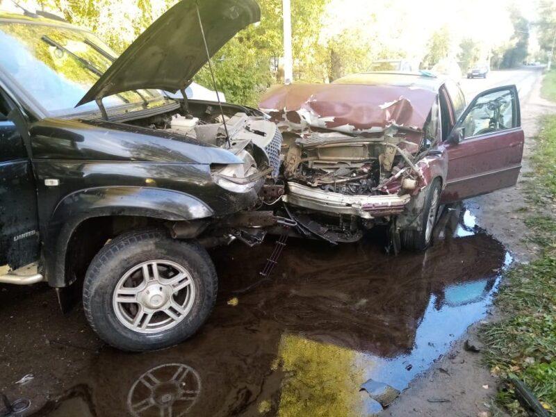 В Твери авария повлекла за собой серьезные последствия