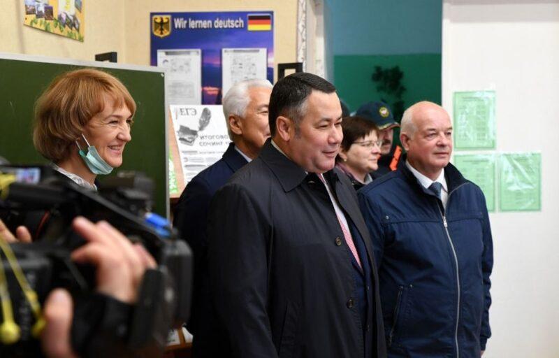 Губернатор поручил построить новый спортивный зал в школе №3 Нелидово