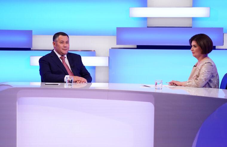 Губернатор Игорь Руденя прокомментирует итоги голосования на выборах в Тверской области в прямом эфире