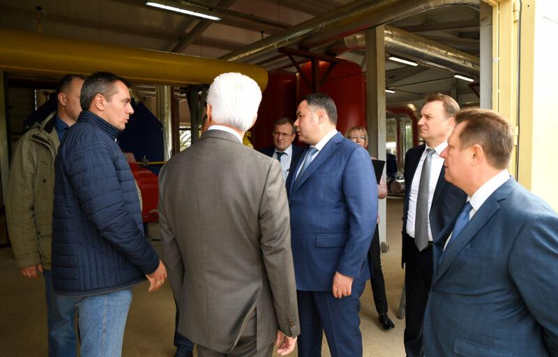 В Тверской области в Бологое откроют блочно-модульную газовую котельную