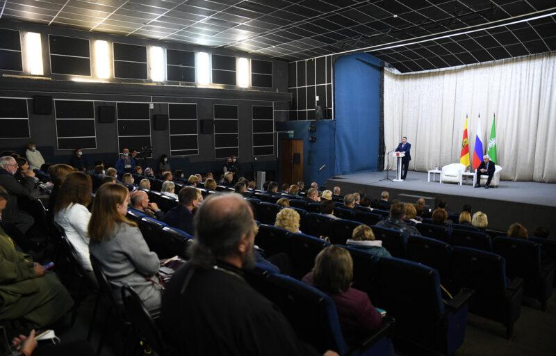 Игорь Руденя обсудил актуальные вопросы с представителями общественности Нелидовского городского округа