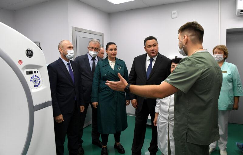 На счету первого открытого в Верхневолжье Центра амбулаторной онкологической помощи уже полтысячи пациентов