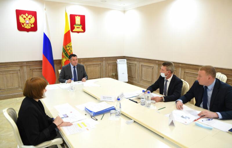 В Тверской областидо 2026 года планируется увеличить темпы дорожных работ