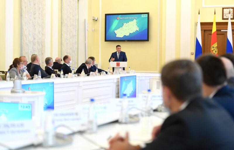 Игорь Руденя встретился с депутатами Заксобрания 7-го созыва