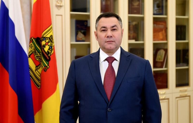 Губернатор Тверской области укрепил позиции в десятке самых медийных губернаторов