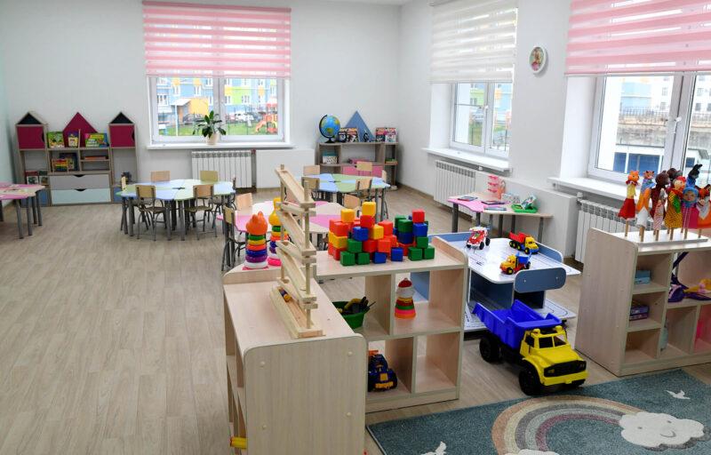 К 1 сентября в Тверской области открылись три новых детских сада