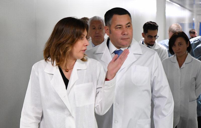 Губернатор Игорь Руденя обсудил модернизацию производства лекарственных препаратов