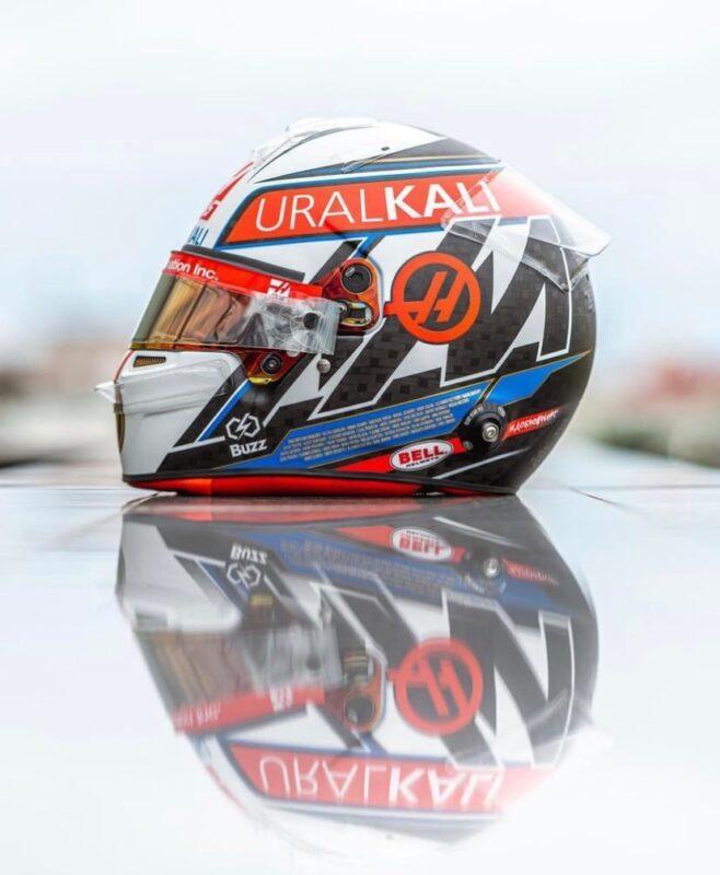 Имена российских Олимпийцев и Паралимпийцев украсили шлем гонщика Формулы-1
