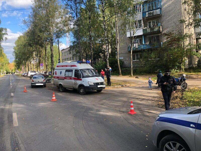 В Твери в ДТП пострадал 32-летний мотоциклист