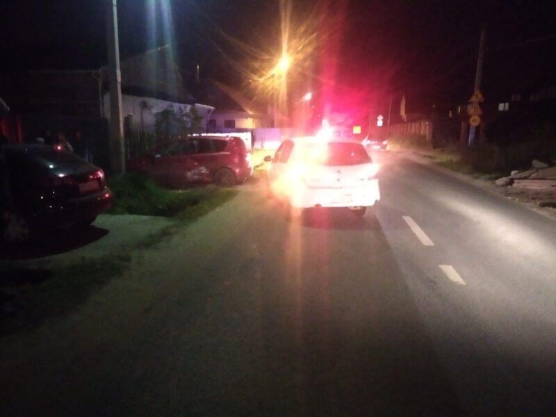 В Твери при столкновении двух иномарок получил травмы ребенок