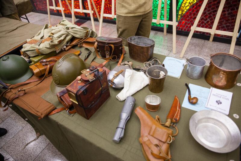 Реликвии времен войны, найденные в Тверской области, покажут в Музее Победы